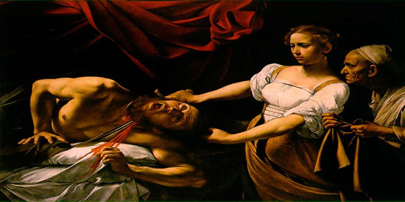Pinturas de personajes bíblicos elegidos para interpretación simbólica.