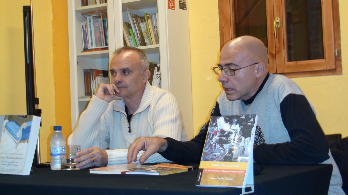Presentación libro de J. Castillo Razón y fuerza del mito en Pamplona