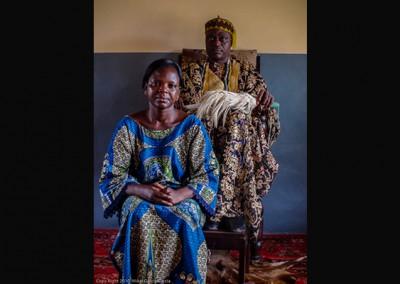 Visita a los reyes de Dassa Zoumé