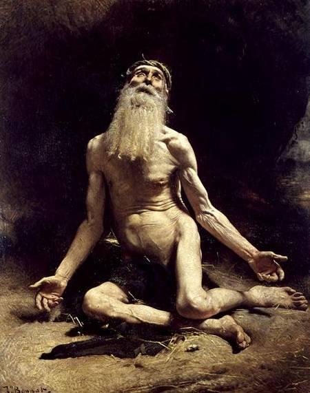 Job' Léon Bonnat 1880 Moderno