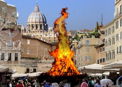 Protegido: Giordano Bruno, quemado vivo en Campo de' Fiori, Roma, el 17 febrero 1600